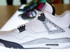 """鉴赏 Air Jordan IV """"White/Cement"""" 重磅复刻之作"""