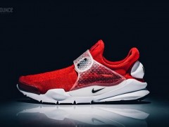 "鉴赏 Nike Sock Dart ""Gym Red"" 绝美轮廓"