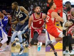 看球还看鞋?鉴赏 2015 NBA 圣诞大战之最佳足上演绎