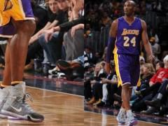 回顾昨日 NBA 赛场上的精彩球鞋穿搭,Kobe Bryant 着用 Nike Kobe X Elite PE 赢得比赛