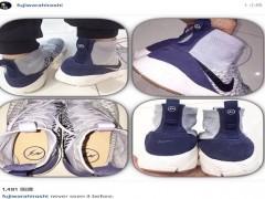 藤原浩在个人 Instagram 上表示从未看过此双 fragment design x Nike Air Footscape Magista 联名鞋款