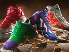 捍卫球场无误!ADIDAS X MARVEL'S AVENGERS 篮球鞋系列