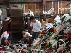 假鞋禁止!菲律宾销毁价值100万美元的盗版仿冒鞋款!