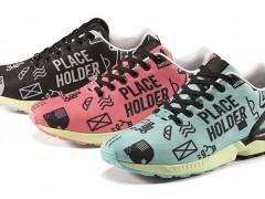普普风图腾穿起来可不普普!adidas Originals ZX Flux place holder pack
