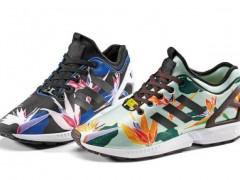 """花团锦簇迎新年!adidas Originals ZX Flux """"Neoprene Graphic"""" 鞋款"""