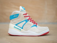 Sneaker Politics x Reebok Pump 25 周年联名鞋款 冰淇淋好美味呀~