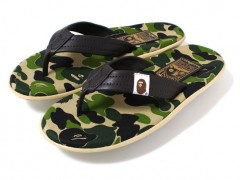 夏天好伙伴 A Bathing Ape x Island Slipper ABC Thong Sandals