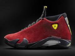 """向法拉利致敬!Air Jordan 14 """"Red Suede"""" 新配色"""
