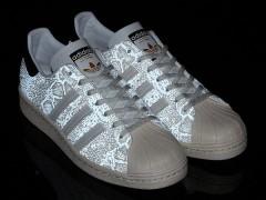 蓄光大蛇!atmos X adidas Originals for atmos Superstar 80s联名鞋款