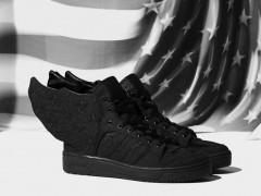 黑羽翼展翅!adidas Originals x Jeremy Scott x A$AP Rocky JS WINGS三方联名鞋款