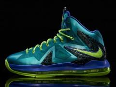 Nike LeBron X P.S. Elite 'Miami Dade '小皇帝的夏日海滩风