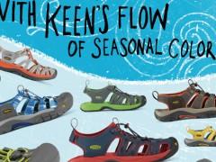 KEEN 水陆两用系列鞋款 陆续上市