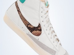 Nike Blazer Mid VNTG – Snakeskin Swoosh 蛇纹大勾 引领风骚