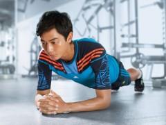 adidas夏季男性健身训练系列 陪伴卢彦勋征战伦敦奥运