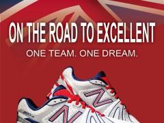 New Balance'The British Miler 890'限量版轻量跑鞋 邀你一起迈向伦敦奥运的光荣时刻!