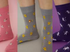 日本推出超萌宝可梦图案长袜,让各位在这冷冷的天有宝可梦们能够温暖足部!