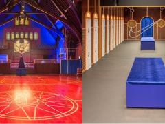 陈冠希说:敬畏上帝!在我看来,Nike 把芝加哥一座教堂改成「篮球场」就是大家的上帝!
