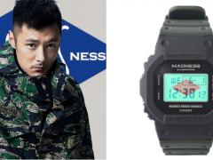 就连錶盒也非常余文乐!MADNESS x G-SHOCK「黑魂萤光联名」DW-5000MD 錶款下週发售!
