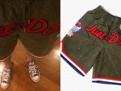 能被冠希形容为传奇真的不多啊 ! Readymade × Just Don 推出军事风格球裤绝对让你不会只帅在球场上!