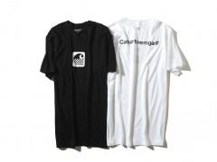 闪电工艺 ‧ Carhartt WIP 携手 fragment design 发表最新联名 T-shirt 系列