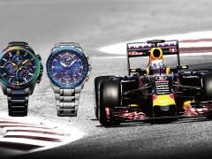 「腕」上竞速!CASIO EDIFICE x Infiniti Red Bull Racing 联名錶款