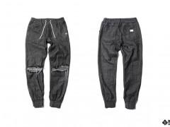 街头最夯三元素:丹宁、破坏、缩口裤一次给足!B-SIDE BLACK RIPPED DENIM正式发售