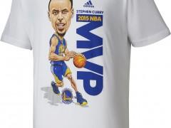NBA萌神 Stephen Curry MVP专属T恤登场!