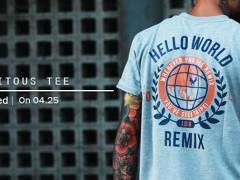 Remix Ubiquitous Tee 04/ 25全省同步上市