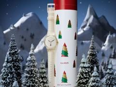 """圣诞大餐前先準备好圣诞大礼!SWATCH 2014 HOLIDAY""""翻转圣诞""""限定錶款"""