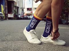 Filter017 Design Fonts Sport Socks 设计字体运动袜