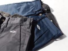 REPUTATION 2013 秋冬 'ADVENTURER' 非常极简的基本窄身工作裤