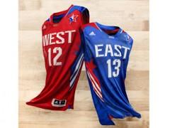 ADIDAS 与 NBA 揭幕 2013休士顿明星赛球衣