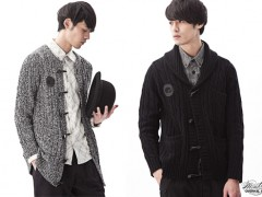 OVERKILL 'KNITTED SMOKING JACKET' 两种版型任你搭配