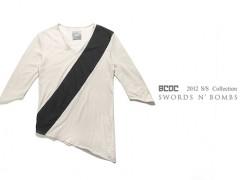 BCDC倾斜剪裁长版七分袖 特殊上架