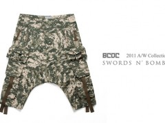 BCDC – Military-Style Harem Trousers 迷彩新作