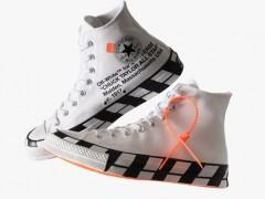 再售价依然破万!Off-White x Converse Chuck 70 据传近期即将补货,经典潮鞋又有「原价」入手机会!